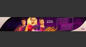 BANNER EDITABLE FIFA 18 V2