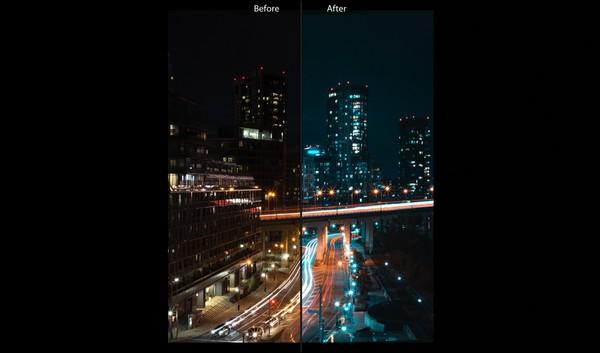Lightroom Preset - Urban Night Tones