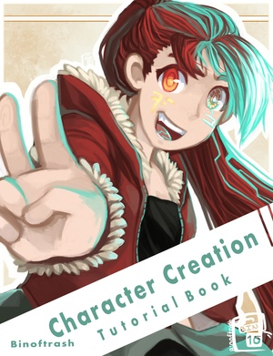 Character Creation Digital Tutorial book