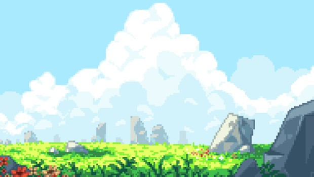 Animated Field backdrop