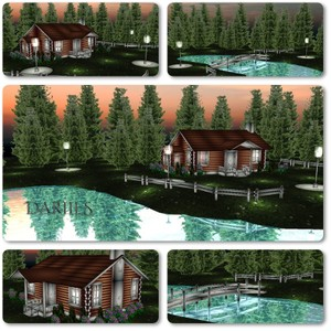 [D]Mesh_Room_spring house in a lake2018 R010