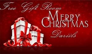 FREE GIFT MERRY CHRISTMAS DARIILS
