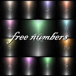 FREE NUMBERS 80 TEXTURES