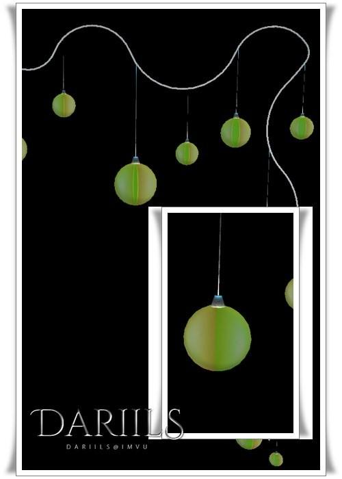 [D]Mesh_Lan_Xmas2016B Wall lamps