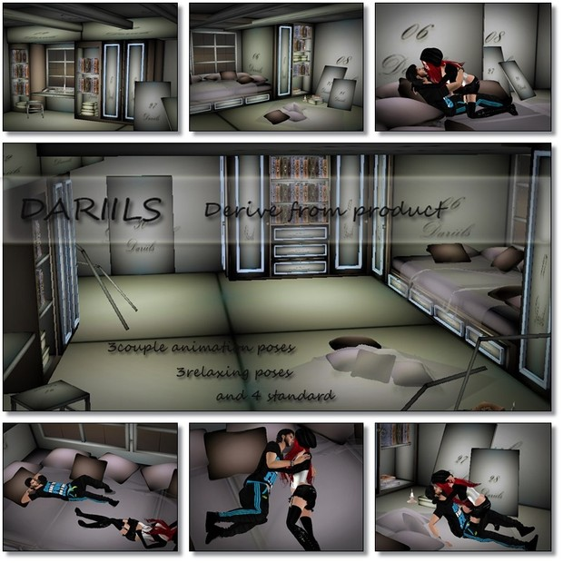 [D]Mesh room loft with poses