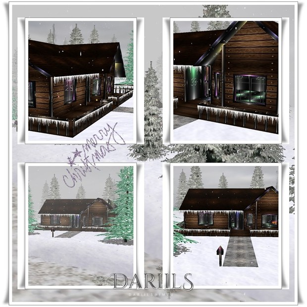 [D]Mesh_Room_cottage with snow2016