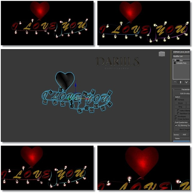 [D]Mesh_Decor love Valent lig_F008