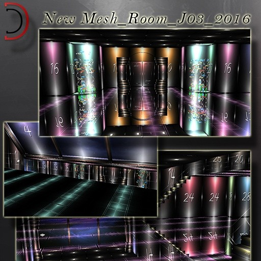 NEW [D]Mesh_Room_J2016_03 for 5 people