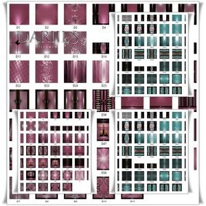 [D] 100 textures pink& teal