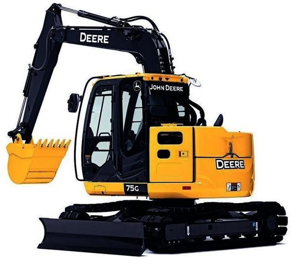 John Deere 75G Excavator Technical Manual (Operation & Test) - TM12873