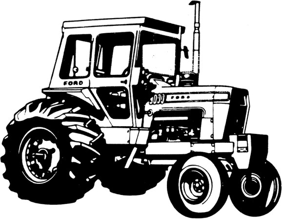 Ford / New Holland 8000, 8600, 9000, 9600 Tractors Ser