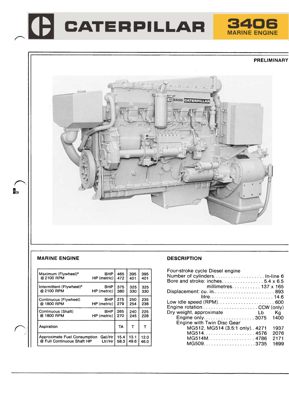 caterpillar 3406e & 3456 engine workshop repair & service manual  3406b engine diagram #7