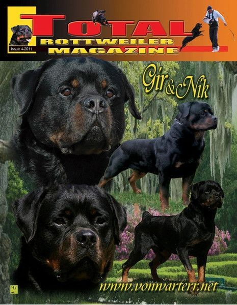 Issue 4 Of 2011 Total Rottweiler Magazine