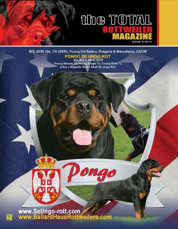 Issue 4 Of 2014 Total Rottweiler Magazine
