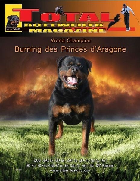 Issue 1 Of 2012 Total Rottweiler Magazine