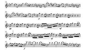 Vivaldi RV454 Oboe or trumpet sheet music play along Concerto in D minor.