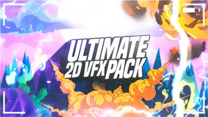 #ULTIMATE 2D VFX PACK - BEST 2D ANIMATIONS PACK. -Flopper
