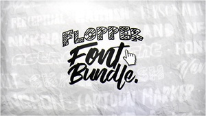 #FlopperExclusiveFontBundle -Flopper