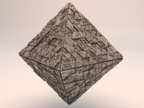 Sci-Fi Shapes - The Diamond 3D model