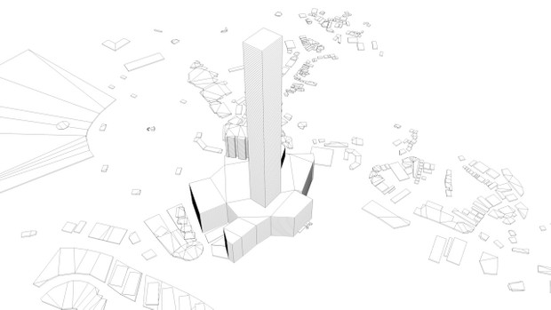 Mecca Streets and Buildings Architectural 3D model