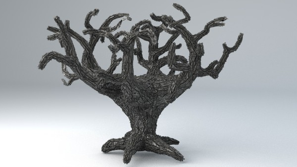 Sci-Fi Shapes - The Tree of Eternity 3D model