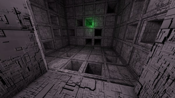 Sci-Fi Shapes - The Escapist 3 Dimensional Labyrinth Low-poly 3D model