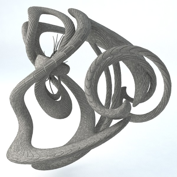 Sci-Fi Shapes - The Swirl 3D model