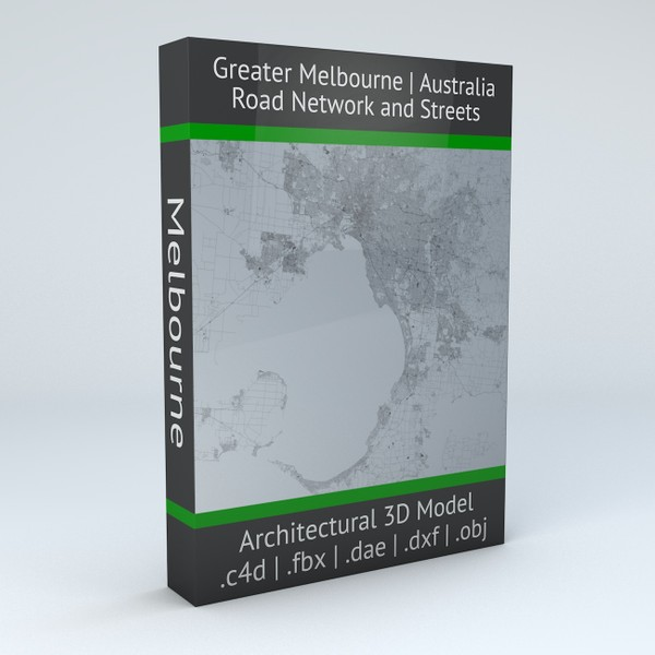 Greater Melbourne Road Network and Streets