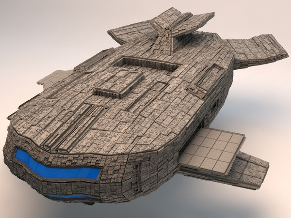 The Space Mothership - 3D model