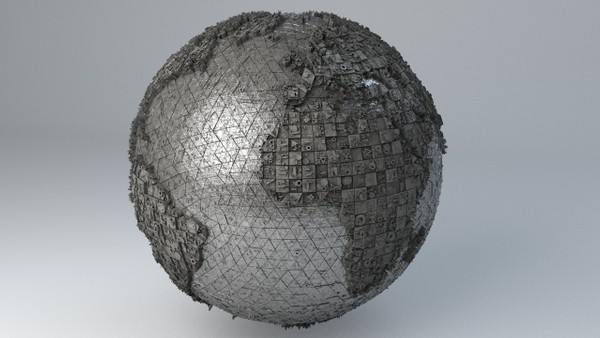 Sci-Fi Shapes - The Earth 3D model
