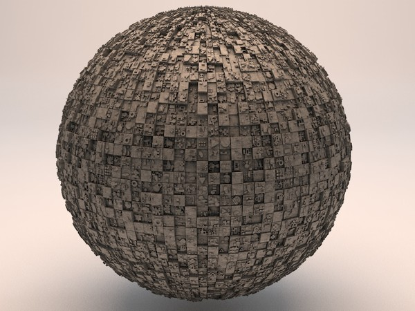 Sci-Fi Shapes - The Sphere 3D model