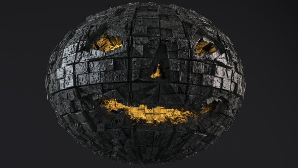 Sci-Fi Shapes - The Halloween 3D model