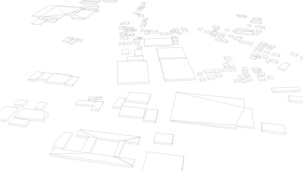 Sendai Japan Streets and Buildings Architectural 3D Model