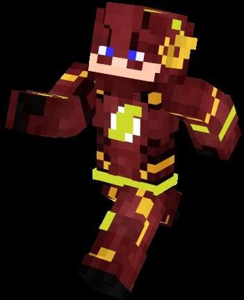 Flash Minecraft Skin Bobbbbbbby