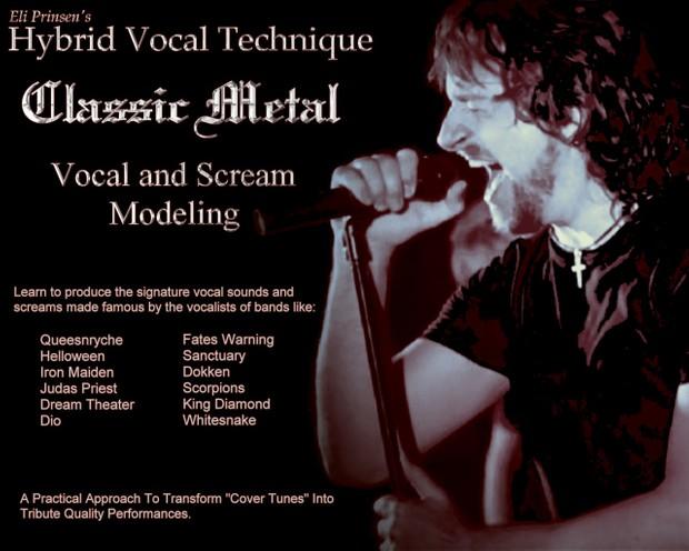 HVT - Classic Metal - Vocal and Scream Modeling Program