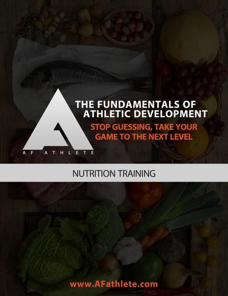 AFathlete - Nutrition training
