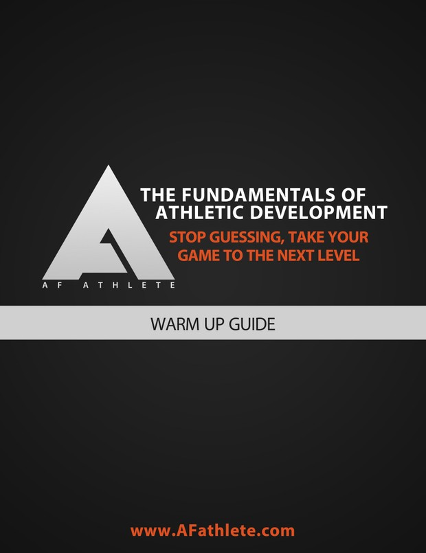 AFathlete - Warm up guide
