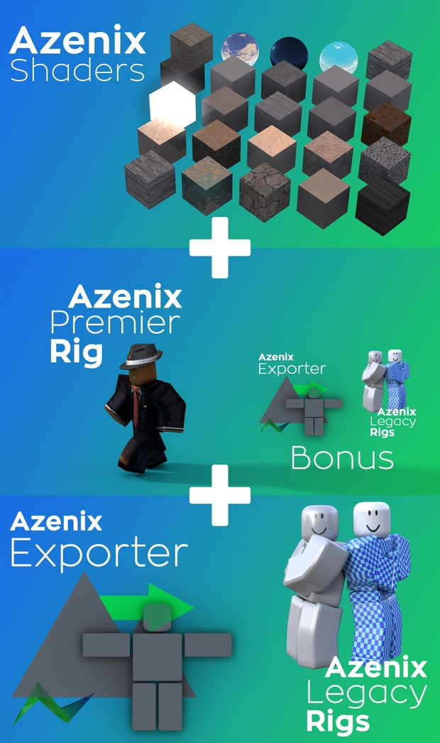 Azenix Mega Pak (All Products)