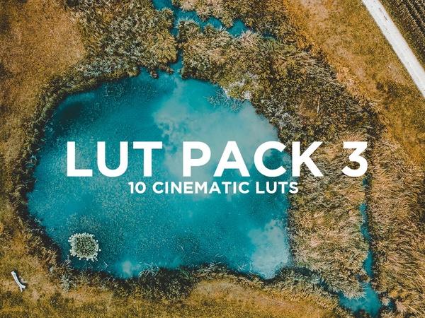 SevenCastStudios Lut Pack 3 - 10 Cinematic Lut's