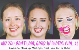 Makeup Mishaps & How To Fix Them