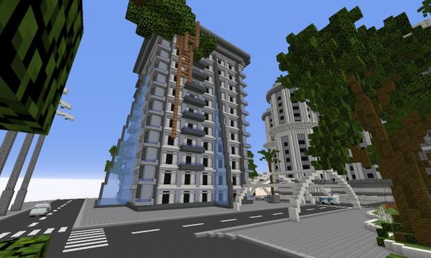 Minecraft Lobby Map - Near Future City