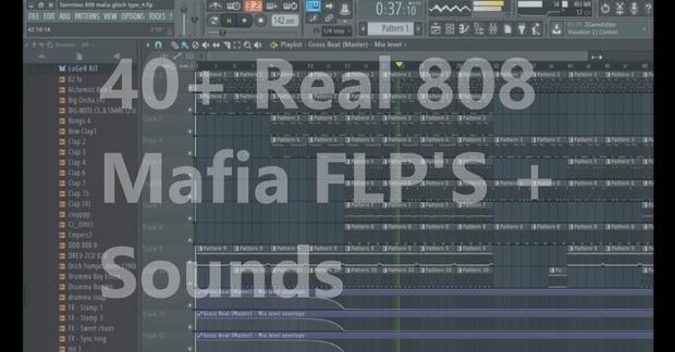 40+ 808 Mafia FLPS! + YK808 Mafia The Formula Nexus XP