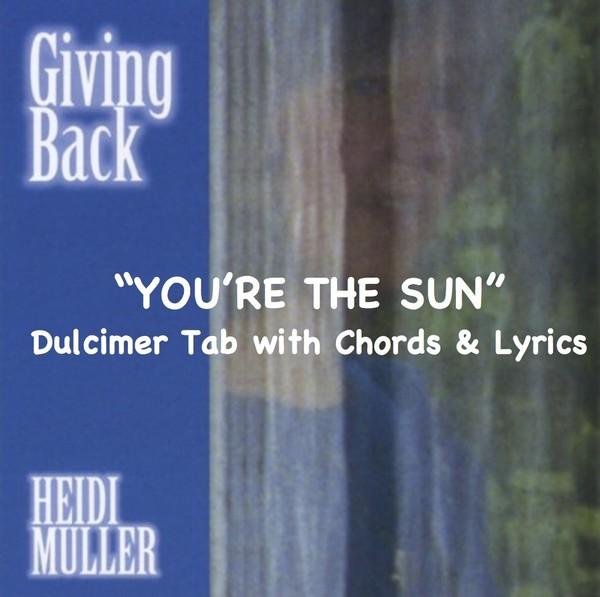 You're the Sun - Sheet Music