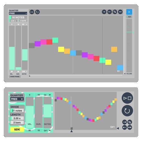 M4L szk.MIDILOOPDRAWER.amxd / 2x devices