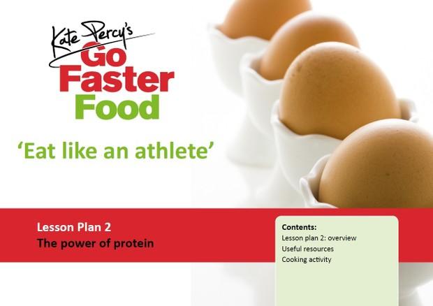Eat Like An Athlete Lesson Plan Bundle.2017.