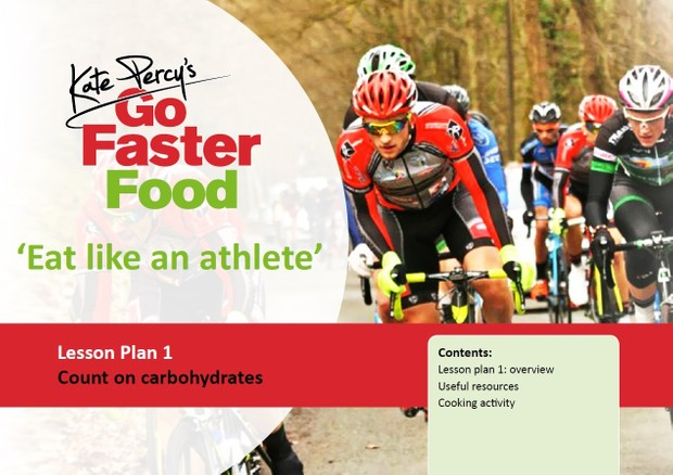 GFF Eat like an Athlete Lesson Plan. Count on Carbohydrate