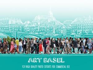ART BASEL - 101 Photo cutouts