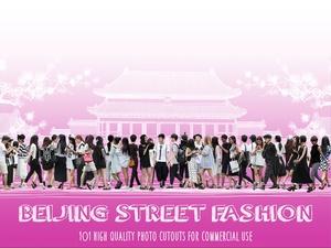 BEIJING STREET FASHION - 101  Photo Cutouts