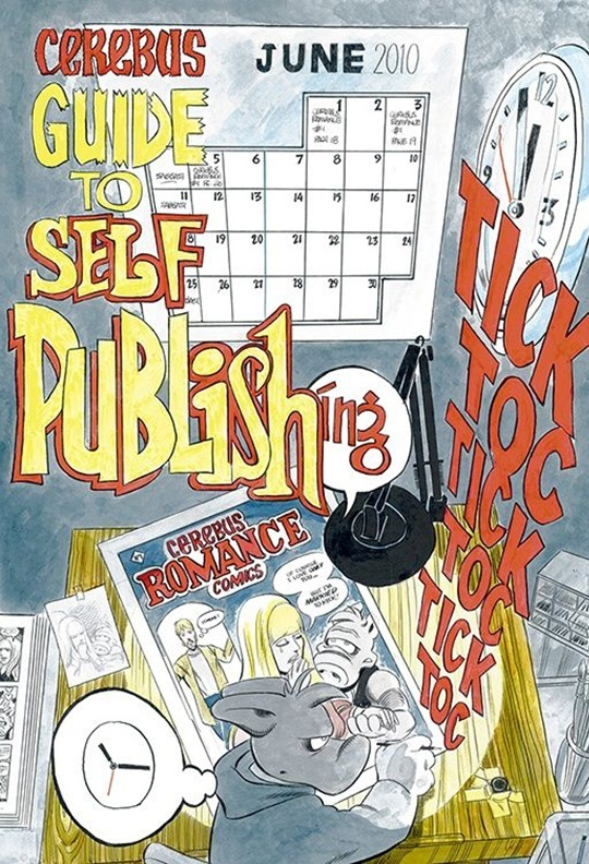 THE CEREBUS GUIDE TO SELF-PUBLISHING by Dave Sim