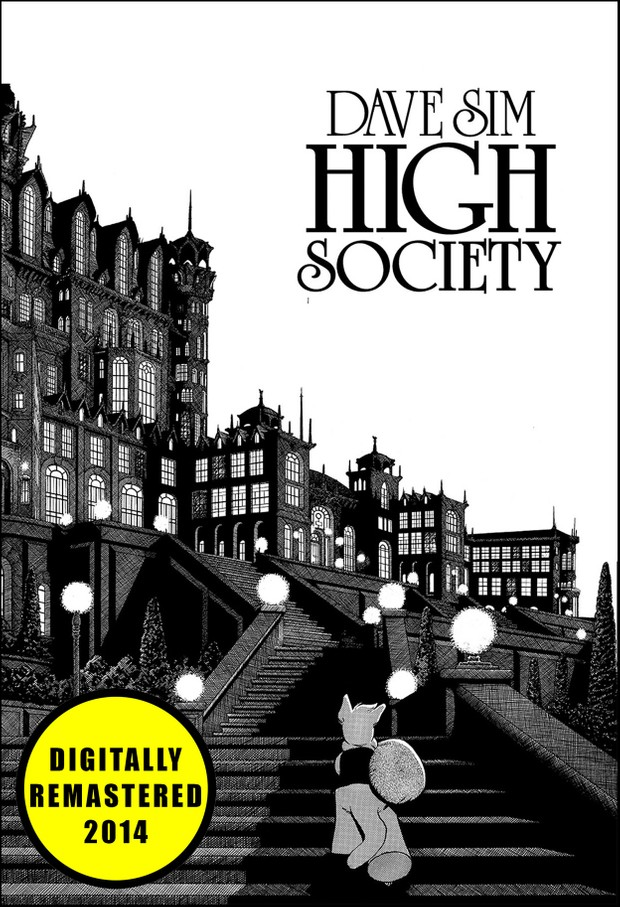 HIGH SOCIETY by Dave Sim (Cerebus: Volume 2) - Remastered